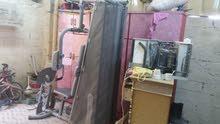 مجموعه لبنا الاجسام هوم جيم مع دامبرز مستعمله غرض البيع لعدم التفرغ
