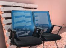 كراسي مكتب بحالة جيدة- متوفر بالمفرد وبالجمله