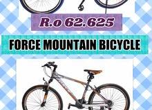 حصريا بأقل سعر فى سلطنة عمان الدراجة الهوائية ماركة فورس الايطالية