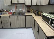 مطبخ نظيف وجوده قويه للبيع ب1000