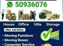 moving shifting carpenter house  office delivery services please call me 50936