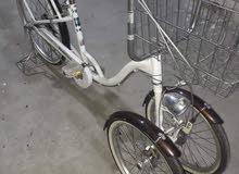 بيسكل ياباني باله ماركه ثلاثة عجلات