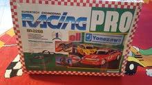 Sporty car race track