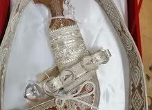 خنجر عماني صناعة يدوية ثقيلة