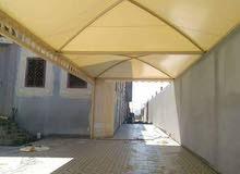 مظلات حدائق اشكال خشبية- مظلات سيارات- سواتر