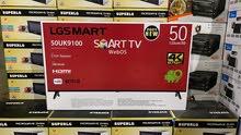 شاشة  LG smart حجم 50