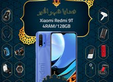 شاومي ريدمي 9T الذاكرة 128G البطارية6000 مع بكج هدية وتغليف حراري مجاناً xiaomi