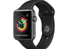 ساعة ابل جديدة الاصدار 3 مقاس 42 مم - New Apple Watch Series 3-42mm