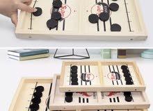 لعبة طاولة الهوكي الخشبية