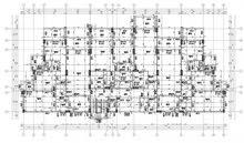 عمل مخططات معماري وإنشائي بالقطعة