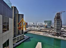 Stunning Canal View 3BR with Maids Rm + Balcony
