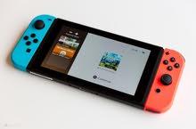 nintendo switch + 3 games ننتندو سويتش مع ثلاث العاب