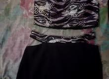 فستان تركي قطعتين جديد