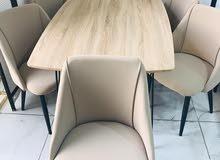 طاولات طعام خشب 6 كراسي مميزة