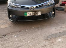 Corolla 2018 for rent