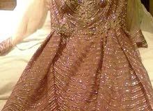 فستان سواريه. (روز جولد)