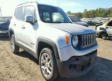 Automatic Silver Jeep 2015 for sale
