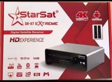 للبيع رسيفر ستارسات starsat sr-x7 extream 4k
