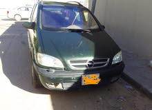 Green Opel Zafira 2004 for sale
