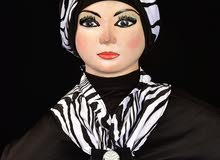 تصميم شغل خاص شالات وحجابات توربان للبيع
