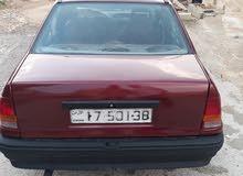 Manual Maroon Opel 1986 for sale