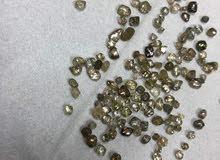 احجار كريمة الماس خام طبيعي100%
