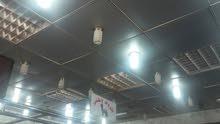 سقف معلق الألومنيوم  بحالة جيدة جدا  المقاس حوالي 6.5×8.