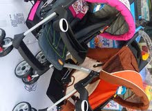 عربة اطفال للبيع