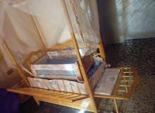 سرير بيبي اطفال..بحالة الوكالة