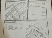 صناعيه للبيع في جعلان بو علي بمساحه كبيره 1500 م مربع وكورنر..
