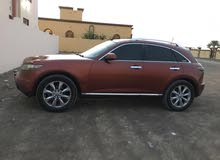Infiniti FX35 2008 For sale - Orange color