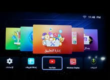 شاشة سمارت 50 بوصة full HD + رسيفر + قاعدة