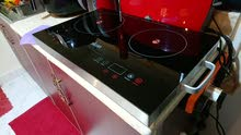 IKON Induction electric cooker flat two burner