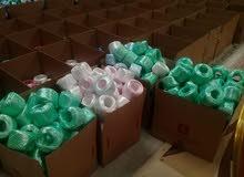 حبال بلاستيكية للأعلاف