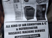 all kids of a conditioner AC and refrigerator Washing Machine service