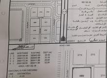 للبيع ارض سكنية مساحتها 851
