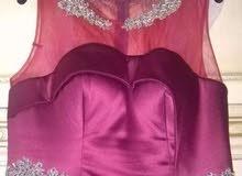 فستان خطوبة لون نبيتي