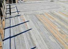 خشب بناء مستعمل