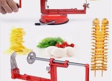 ماكينة البطاطس الحلزونية / متعة التذوق