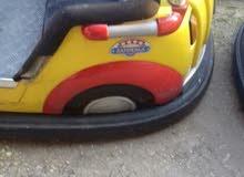 لعبة سيارات  تصادم  اطفال كهربائية  مستعمل السيارات ايطالية
