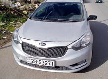 Renting Kia cars, Optima 2017 for rent in Irbid city