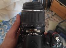 كاميرا D3200 استعمال مرة واحدة مع عدسة Nikkor