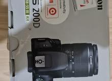 كاميرا D200 كانون استعمال بسيط جدا بحالة ممتازة