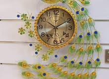 اجمل ساعة جدارية بالعراق_الطاووز