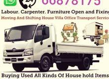 moving pickup labour Carpenter services good