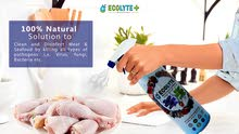 100% NATURAL DISINFECTANT PRODUCT - ECOLYTE MEAT AND SEAFOOD DISINFECTANT 1LITRE