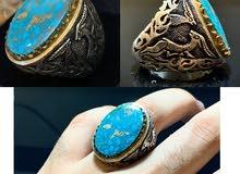 للبيع خاتم فيروز نيشابوري قمة الفخامة