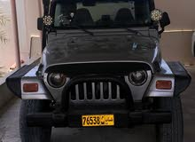 Jeep Wrangler 2001 For sale - Silver color
