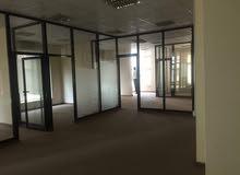 مكتب للايجار دور كامل واسع وكبير 12 الغرفة