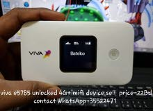 Viva e5785 4G plus unlocked mifi device
